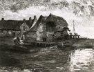 Watermolen te Gennep - Vincent van Gogh