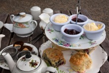 High Tea met scones