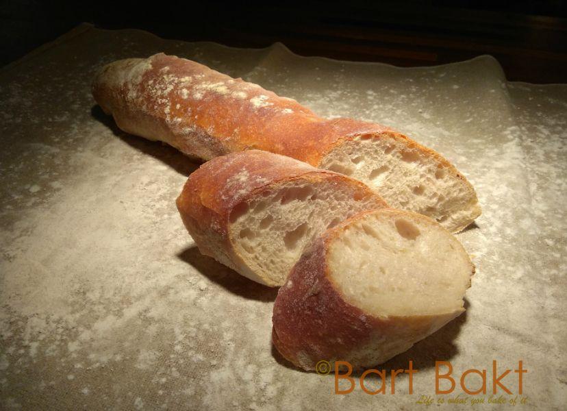 Stokbrood - gesneden