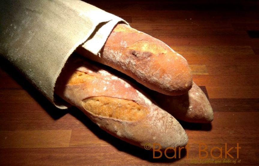 Stokbrood, zelfgebakken hetallerlekkerst!